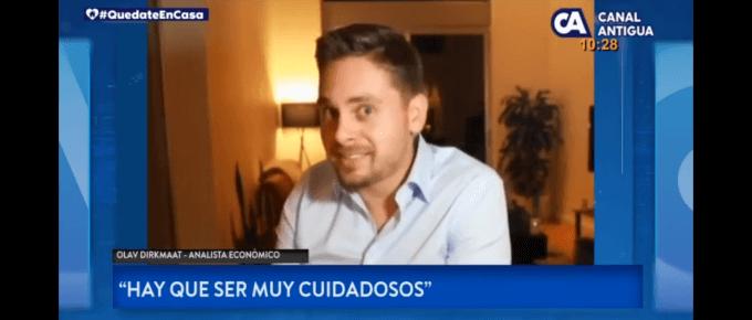 Interview on economic impact of Covid19 (Spanish)