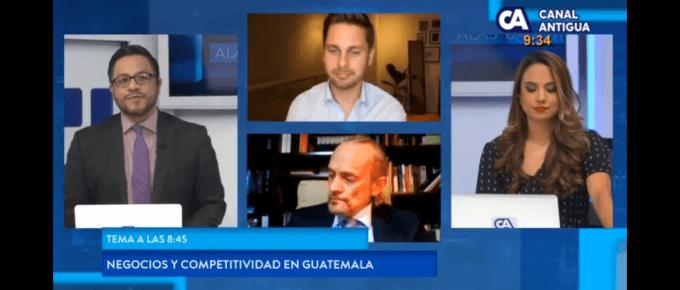 Interview on economic reforms in Guatemala (Spanish)